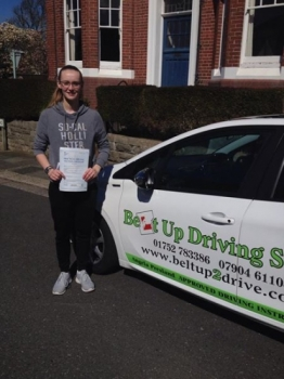 Really good quality gave me the confidence I need from the very start which pushed me to learn and succeed with my driving test Good help and advice and all round a great instructor who I would definitely recommend to those learning