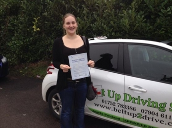 Iacute;ve just taken and passed my driving test this morning and honestly can say I couldnacute;t have done it without Angie : one of the loveliest ladies I have met so patient and dealt with my nerves brilliantly I learnt so much so quickly -great value for money Thankyou so much and will miss our lessons