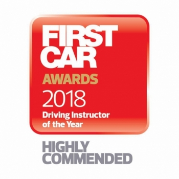 We are pleased to announce that Angie Presland was Highly Commended at the First Car Awards Driving Instructor of the Year 2018 Ceremony.