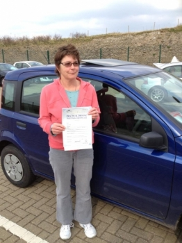 After 40 years of driving with a US license I took lessons from Angie Presland in order to obtain my Full UK license Angie was extremely patient and helpful as I undertook learning all the skills I would need to pass the UK test Though I found the experience stressful Angie did her best to update my driving skills to those used in the UK I passed the test today on my first GO and Angies part