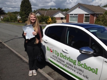 Angie is a very kind and patient instructor who has helped me relax when I was panicking before my test and during driving lessons She is an amazing instructor and I would not have passed first time without her<br />