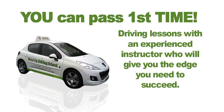 Driving lessons with Belt Up Driving School